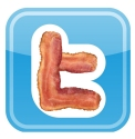 Twitter Bacon Logo