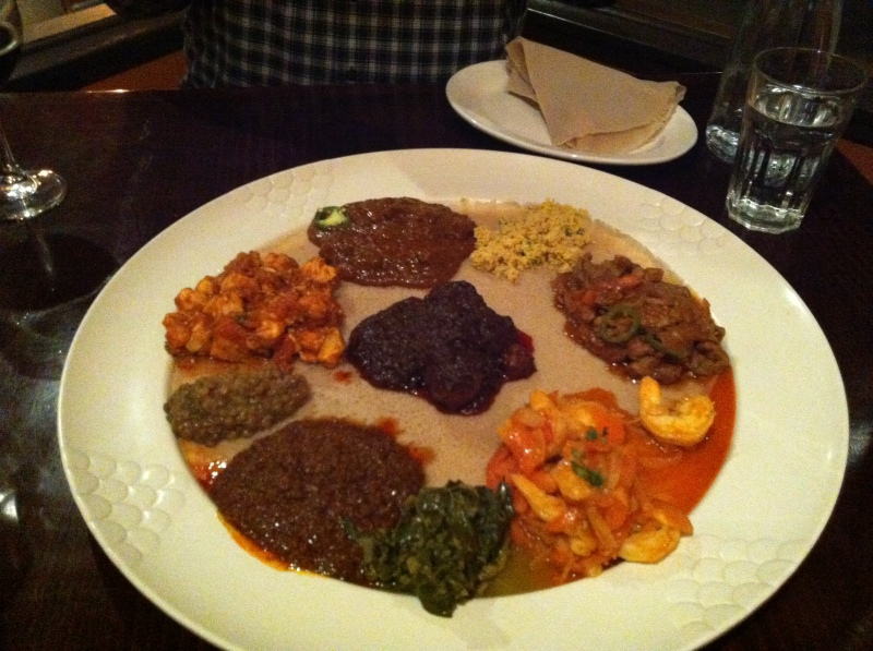 Ethiopian Food Art