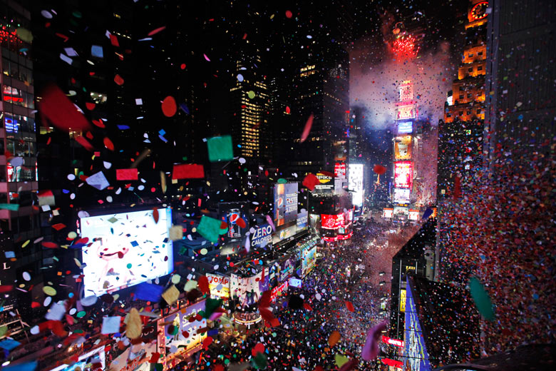 New Years Eve in Timesquare