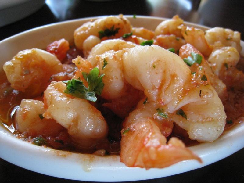Shrimp Tibs