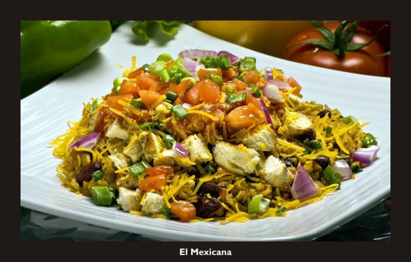 El Mexicana from Muscle Maker Grill