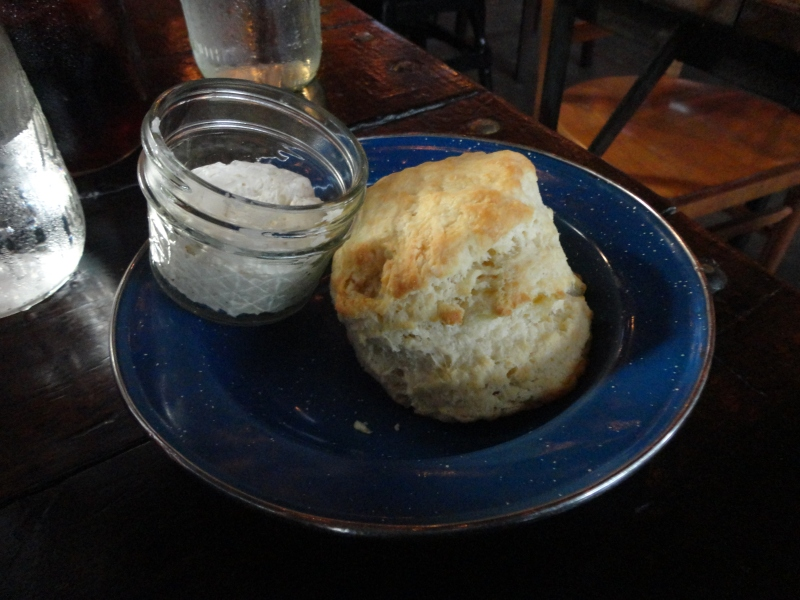 Sweet Cheeks Biscuit With Honey Butter