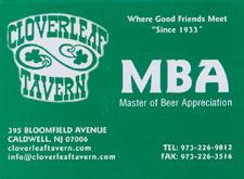 Masters of Beer Appreciation