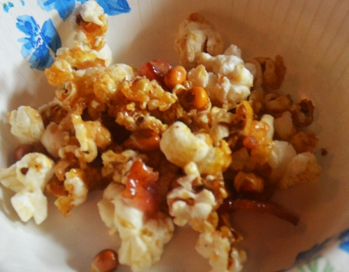 Bacon Maple Popcorn