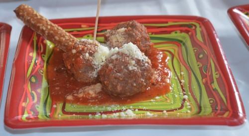 Pancetta Meatballs