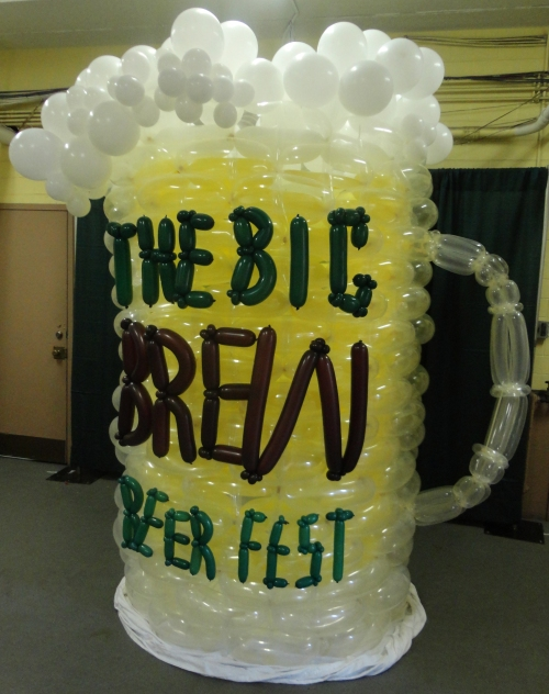 Big Brew Beer Fest Ballon Mug