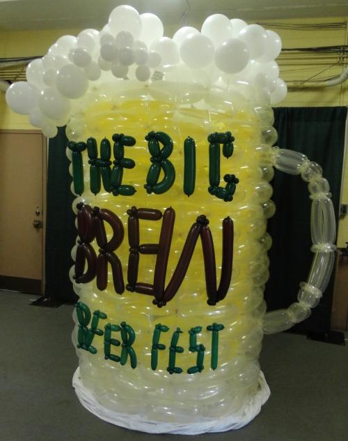 Big Brew Beer Fest Ballon Mug