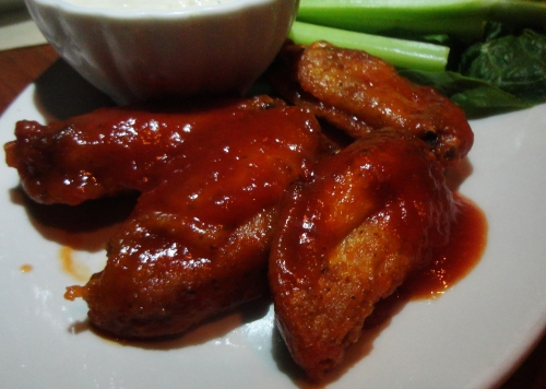Spicy Hot Maple Buffalo Wings