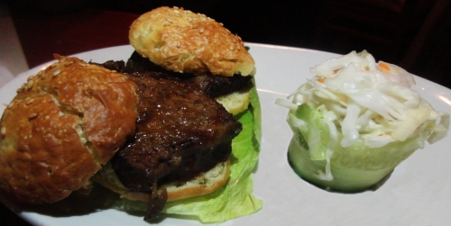 Short Rib Sliders with Cole Slaw