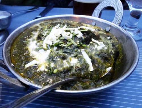 Lamb Boti Saagwala