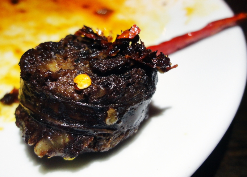 Blood Sausage With Pepper