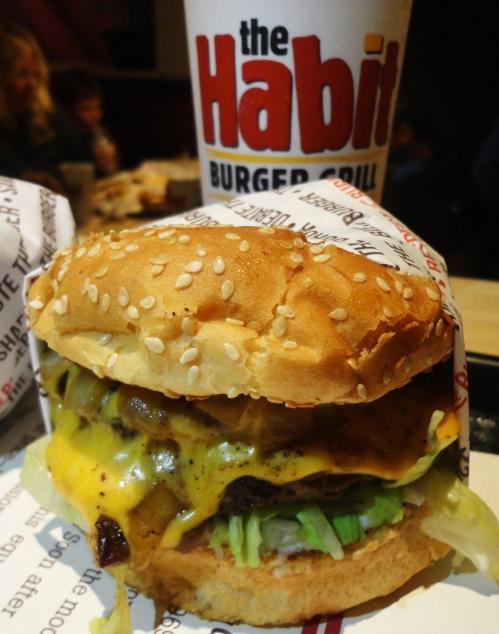 Double Char Burger