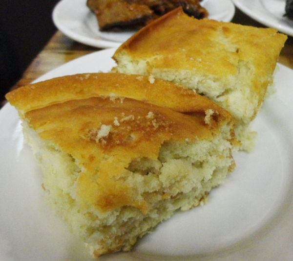This was more like corn cake than traditional corn bread which I found surprisingly tasty!