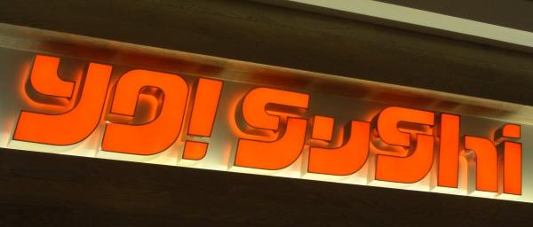 Yo! Sushi Sign