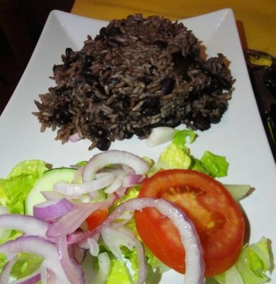 Casa de la Trova Salad And Rice