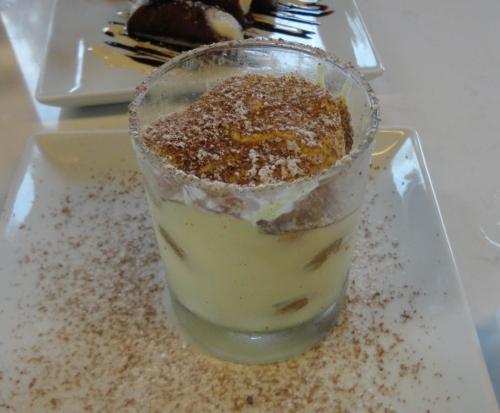 Tiramisu Served in a Glass