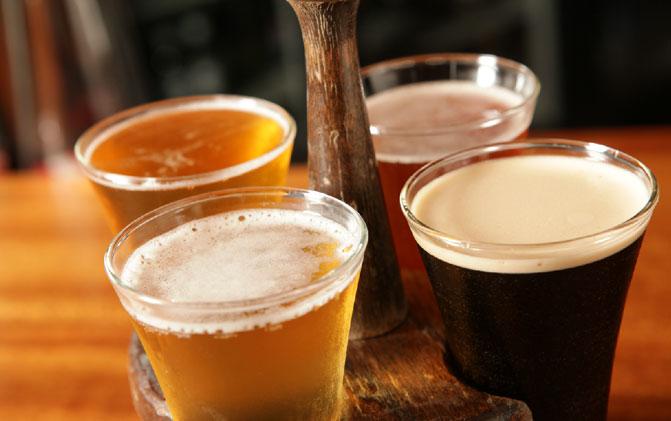 Morris Tap & Grill Beer Flight