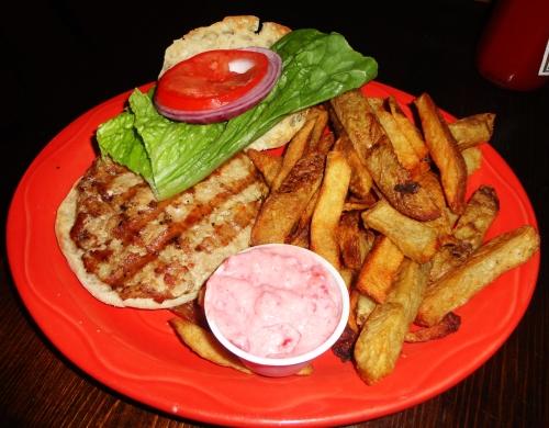 Iron Horse Turkey Burger