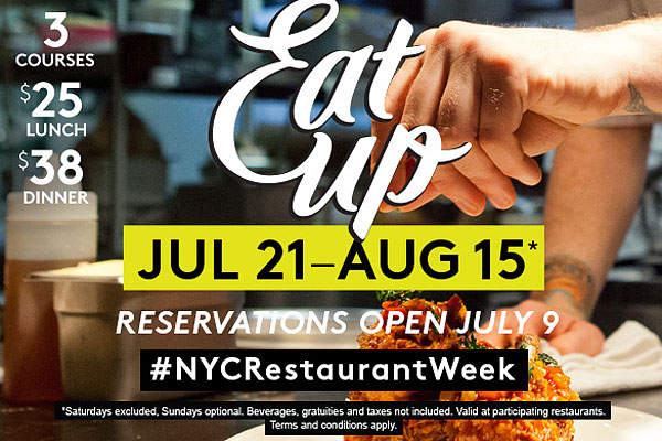 restaurant week NYC 2015