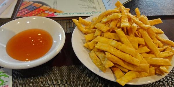 Crispy Fried Strips Of Amazeballs